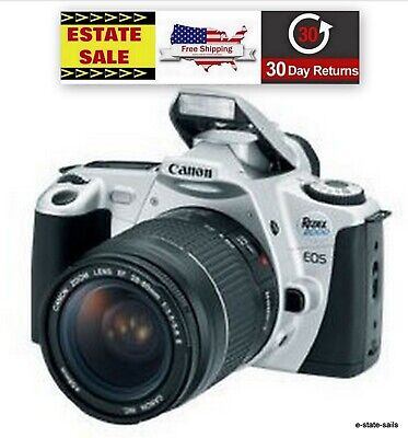 Canon Rebel 2000 EOS Camera w/ Canon 58mm 28-80mm EF-Mount Auto f/3.5-5.6 Strap