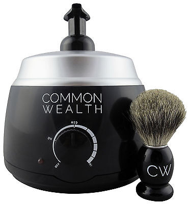 Common Wealth Professional Deluxe Hot Lather Machine Barber Latherizer King