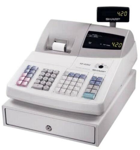 SHARP #XE-A202 High-Speed Electronic Cash Register