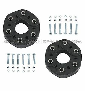 Drive shaft flex joint disc kit for mercedes front rear 2 for Flex disk mercedes benz
