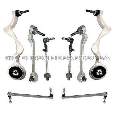 FRONT CONTROL ARM BALL JOINT SWAY BAR LINKS TIE RODS SUSPENSION KIT for BMW E90