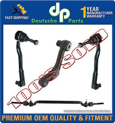 Center Drag Link Tie Rod Rods Inner Outer + Idler Arm Repair Kit for BMW E39 540