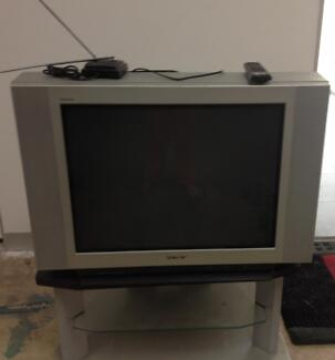 SONY TV + STAND Seaton Charles Sturt Area Preview