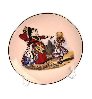 Alice And The Queen Of Hearts - Alice Im Wunderland Porzellan - Queen Of Hearts Wand