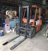 Toyota Forklift FG25 2.5 Ton, Container Mast, LPG Beveridge Mitchell Area Preview