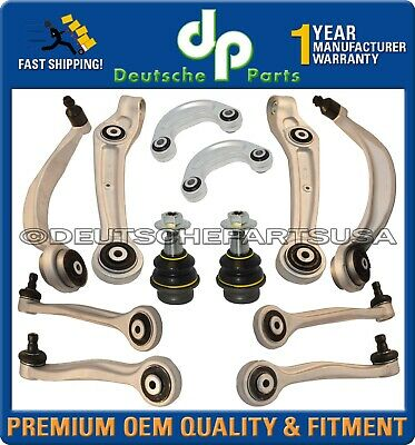 BENTLEY CONTINENTAL GT GTC FRONT CONTROL ARMS ARMS BALL JOINTS SUSPENSION KIT 12