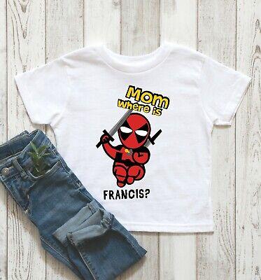 Kleiner Deadpool Superheld 6mth - 6 Jahre Junge - Kleine Mädchen Superhelden Kostüme