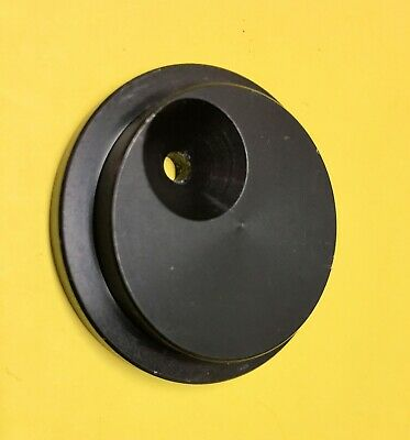 Round 40 Mm Diameter Plate With 4 Mm Hole Offset From Center With Counter Bore