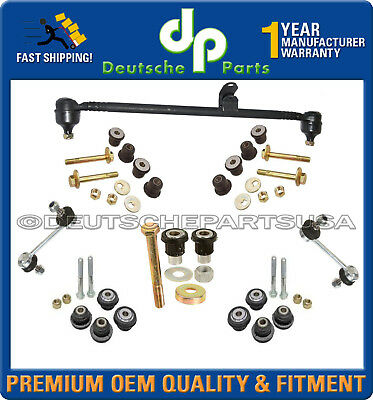 Mercedes R107 350SL Drag Link Idler Arm Bushing Sway Bar SUSPENSION KIT 8pc