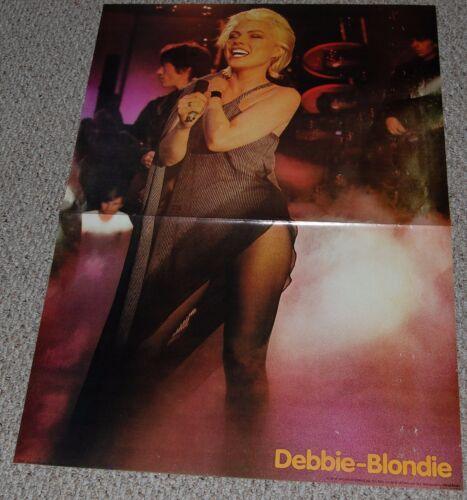 Blondie DEBBIE HARRY In Concert JUMBO 26x38 Poster 1979 Wizard & Genius Hot Babe