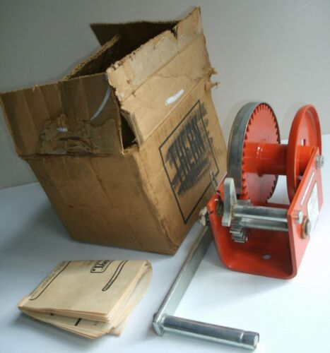 NOS Thern Model 4021 Hand Winch