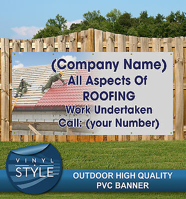 All Aspects Of Roofing 002 Home Trade Pvc Banner Promotional Various Sizes