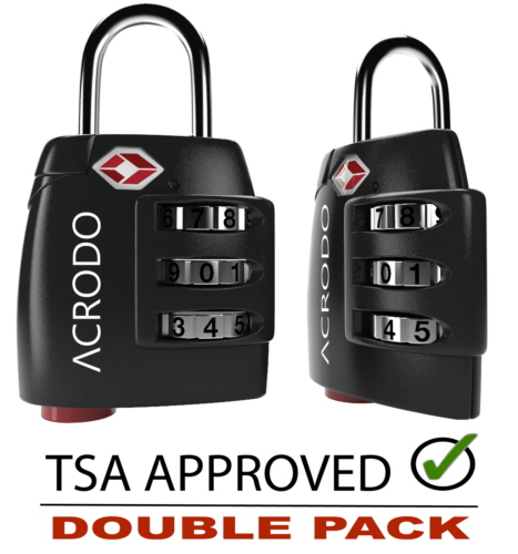 tsa approved metal travel luggage lock search