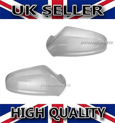 Vauxhall Astra H MK5 Wing Mirror Cover Cap Casing Pair 04 09 Primed