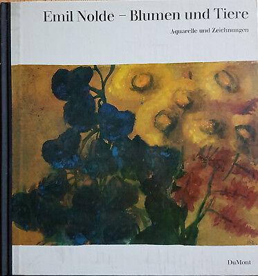 Martin Urban: Emil Nolde Blumen und Tiere, Aquarelle + Zeichnungen, DuMont 1965 ()