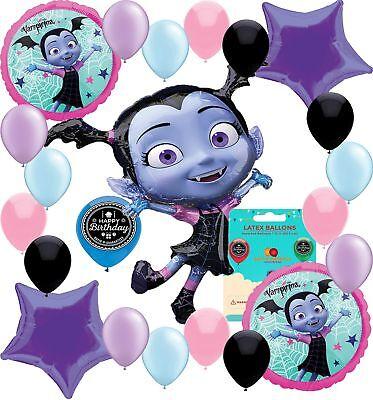 Vampirina Party Supplies (Choose Your Own Age) Birthday Deluxe Balloon Decora...