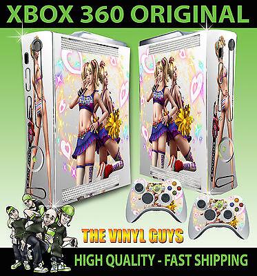 Xbox 360 Vecchia Forma Lollipop Chainsaw Luce Cuori Adesivo pelle & 2 di Pad segunda mano  Embacar hacia Argentina