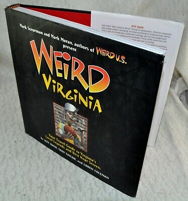 Weird Virginia Your Travel Guide to Virginia's Local Legends & Best Kept