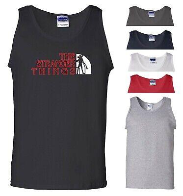 Stranger Things Vest Inspired Upside Down Demogorgon Halloween Gift Men Tank Top