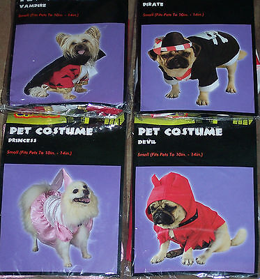 Devil Dog Costumes (Small Pet costumes,dog,cat ass't styles,animal dress-up,)