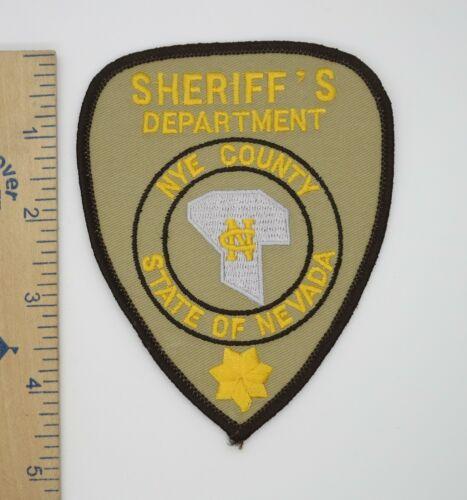 NYE COUNTY NEVADA SHERIFF