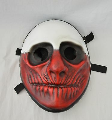 NEW Cool Resin Replica Payday 2 Wolf Mask With Stripe Cosplay Halloween - Halloween 2 Replica Mask