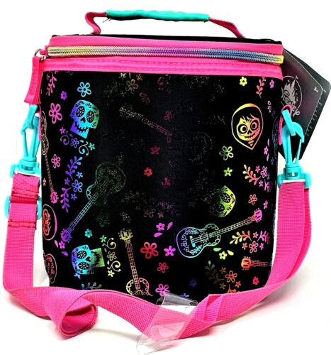 Disney Store Coco Lunch Box Tote Kids School Bag Pail Insulated Brand New
