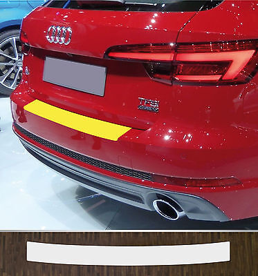 Lackschutzfolie Ladekantenschutz transparent Audi A4 B9 Avant, ab 2015