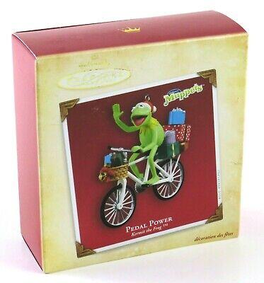 Pedal Power, Kermit the Frog™, Hallmark Keepsake Christmas Ornament 2004