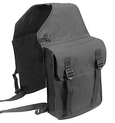 PFIFF Packtasche Doppelpacktasche NYLON Satteltasche Pferd englisch schwarz