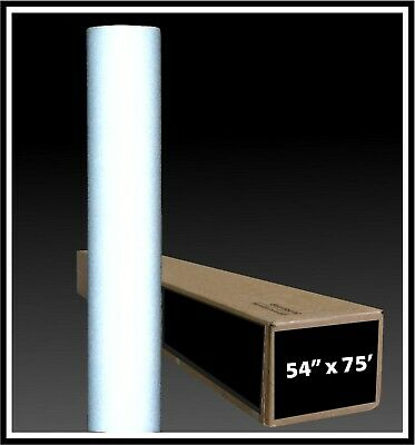 White Reflective Vinyl Material Printable Sign Plotter Cutter Adhesive Roll