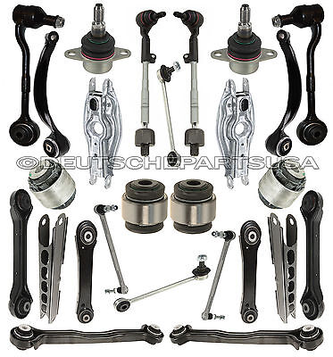 Front + Rear Control Arms Ball Joints for BMW E90 Xi xDrive SUSPENSION Kit 26