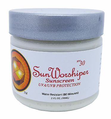 Sun Worshiper Sunscreen 100% Natural Safe for Children Best