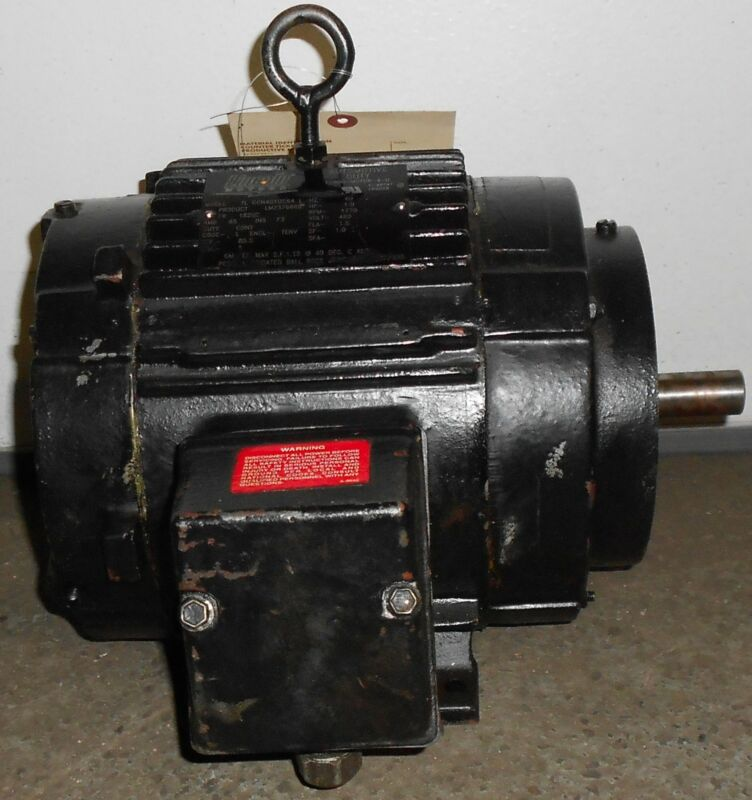 Lincoln Remanufactured Electric Motor 1 HP  1770 RPM 11500WT