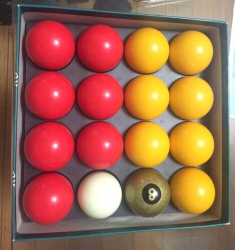 Aramith Premier GOLD Edition pool balls