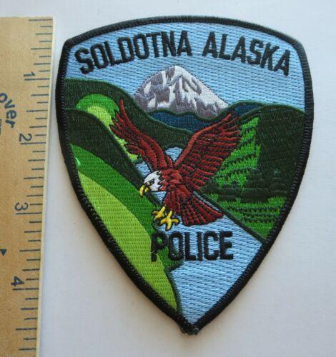 SOLDOTNA ALASKA POLICE PATCH Vintage Original