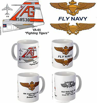 "VA-65 ""Fighting Tigers"" A-6 Intruder Mug"