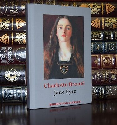 Jane Eyre by  Charlotte Bronte Brand New Deluxe Hardcover Classics Gift