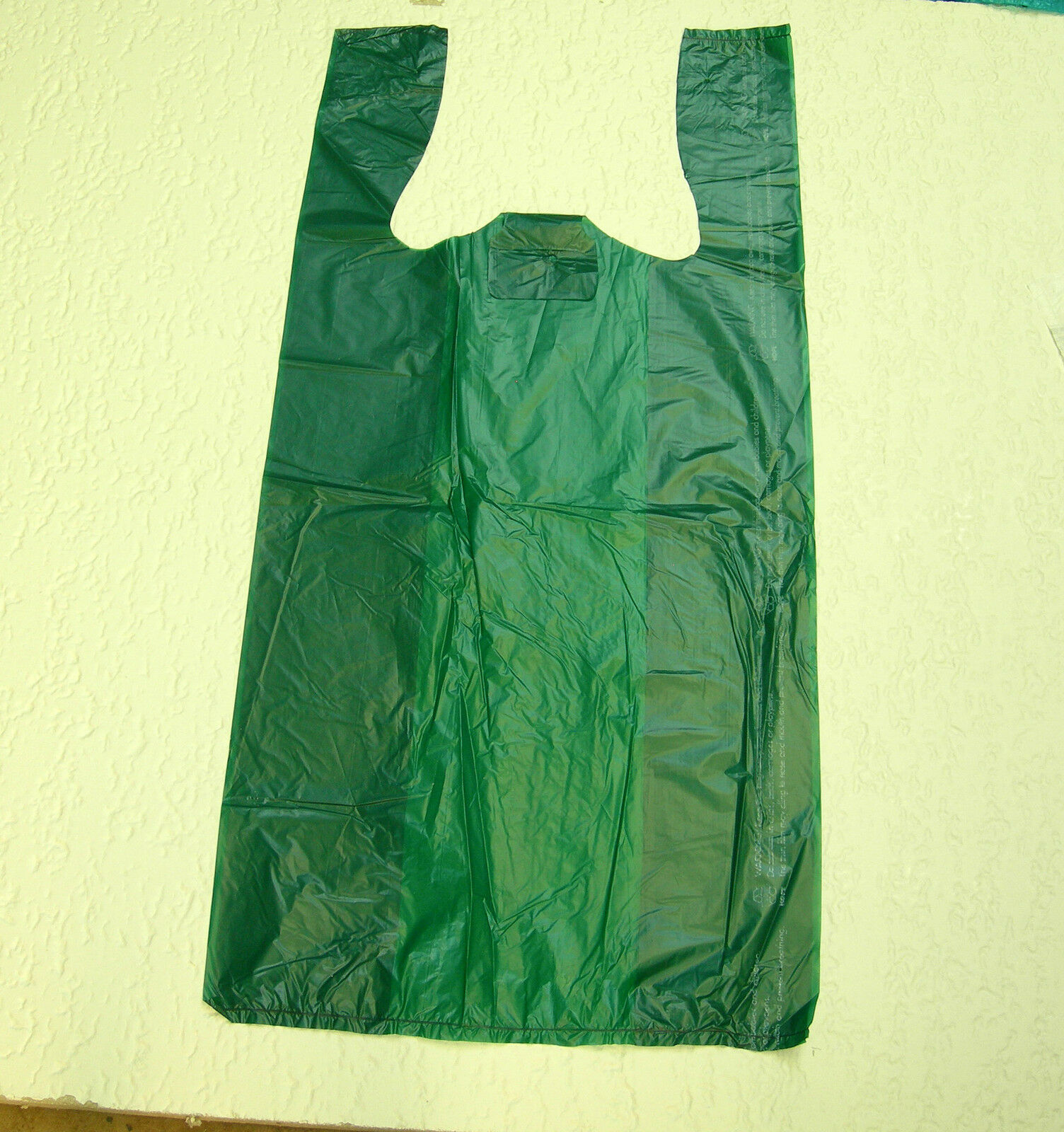 Plastic T-Shirt Bags with Handles You Pick Lot & Colors & Size