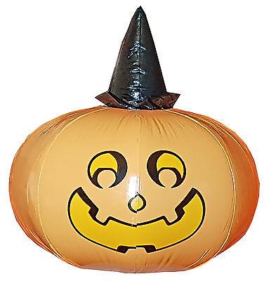 aufblasbarer Kürbis 50 cm Kürbis Dekoration Halloween Garten Partydekoration