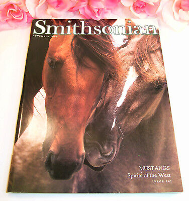 Smithsonian Magazine November 1997 Mustangs Shakespeare Warsaw Heinrich AirSpace