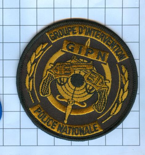 International Police Patch - GROUPE D