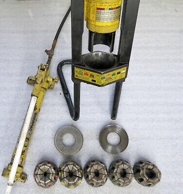 Parker Karrykrimp 82c-001 Portable Hydraulic Hose Crimper 82c-080 Dies