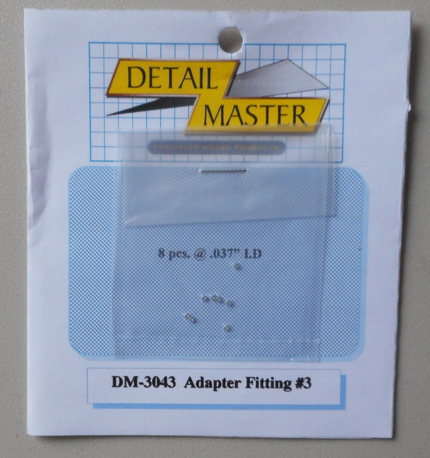 ADAPTER FITTING #3 .032 1:24 1:25 DETAIL MASTER CAR MODEL AC