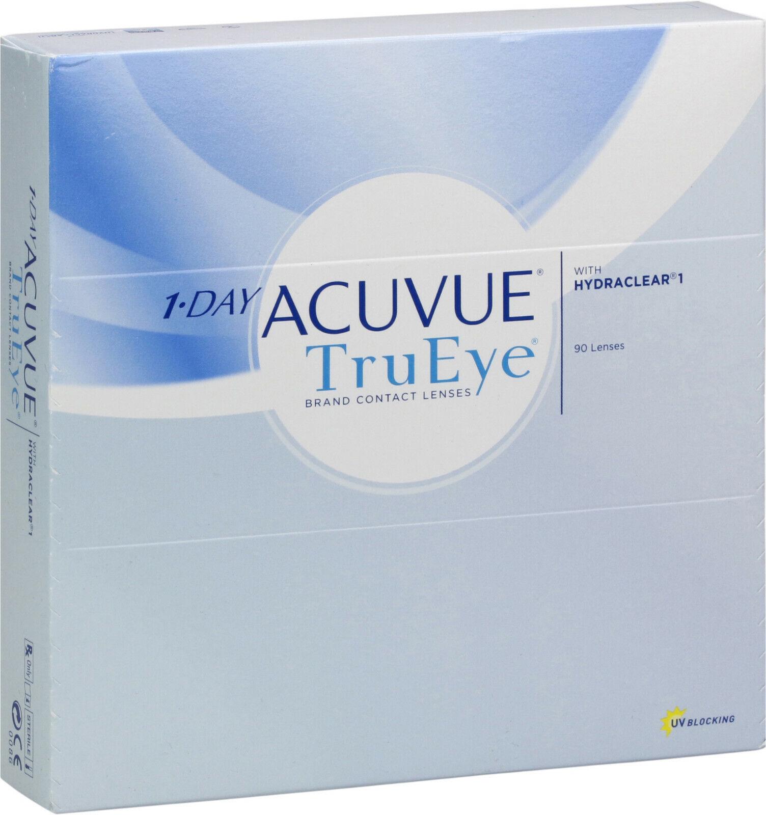 1-day Acuvue TruEye 90er Box - Tageslinsen - weiche Kontaktlinsen