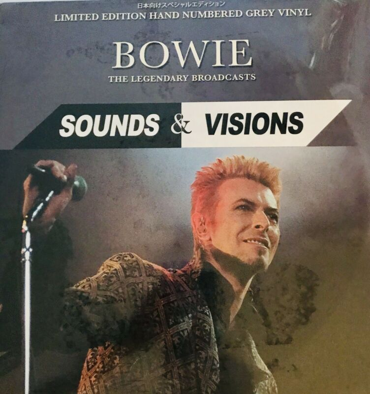 David Bowie Limited edition SOUNDS & VISIONS