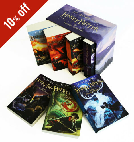 Harry Potter Box Set:The Complete Collection | Paperback | Free Shipping in USA