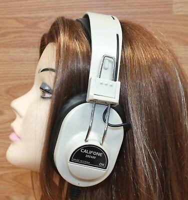 Original Califone (2924av) über die Ohr Mono Kopfhörer mit / 6.3mm Stecker
