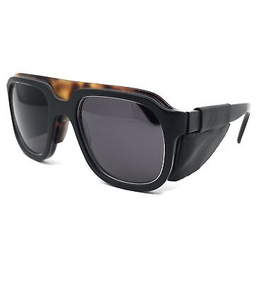 Salvatore Ferragamo Sunglasses SF691SL 002 Matte Black Rectangle Men 54x24x140