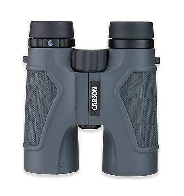 Carson 3D Series High Definition Waterproof Binoculars for Hunting, Bird Watc...